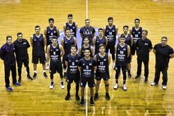پیروزی تیم بسکتبال نوجوانان ایران مقابل آکادمی NBA آمریکا