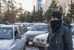 ترافیک نیمه سنگین در آزادراه قزوین-کرج/بارش باران در محورهای ۴ استان