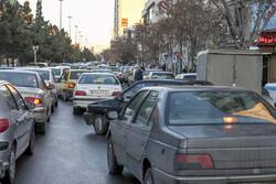 ترافیک نیمه سنگین در محورهای شمالی و منتهی به پایتخت/ جاده چالوس دو طرفه است