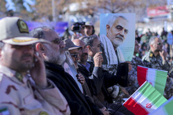 جشن آغاز دهه مبارک فجر در بیرجند