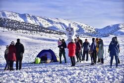 Snow brings joy to people in NE Iran