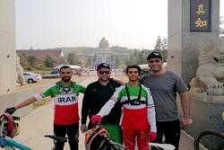 دوچرخه سواران ایران به مدال نرسیدند
