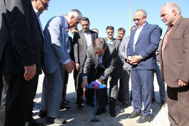 مخزن ۲۰۰۰ مترمکعبی در طرح آبرسانی به شهرک روزیه سمنان افتتاح شد