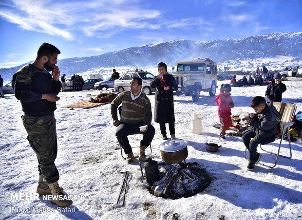 برف سرعلی آباد ؛ جایی برای لحظه های شاد
