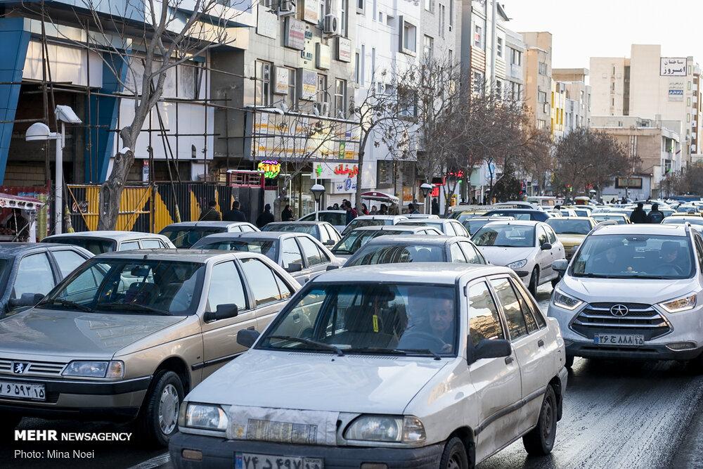 ترافیک صبحگاهی در بزرگراه های پایتخت