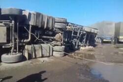 ایران ۲۰۰۰ کامیون را از انفجار نجات داد/ ۸۰ درصد کامیونهای خسارت دیده افغانستانی هستند