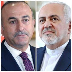 Zarif holds phone talk with Turkish FM on so-called 'Deal of the Century'