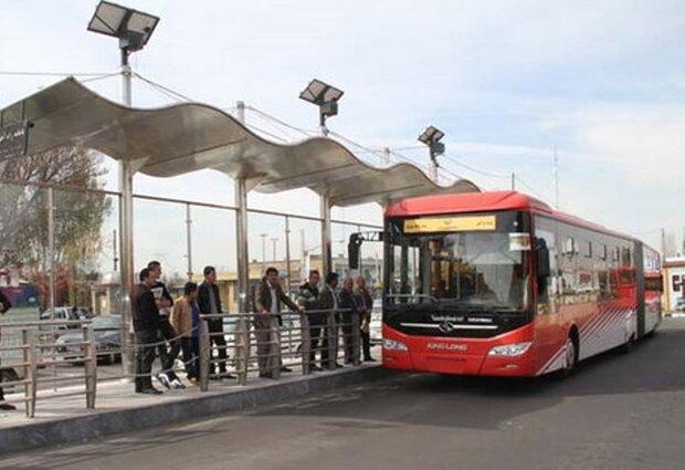 ایستگاههای اتوبوس شهر کرمانشاه نوسازی میشوند