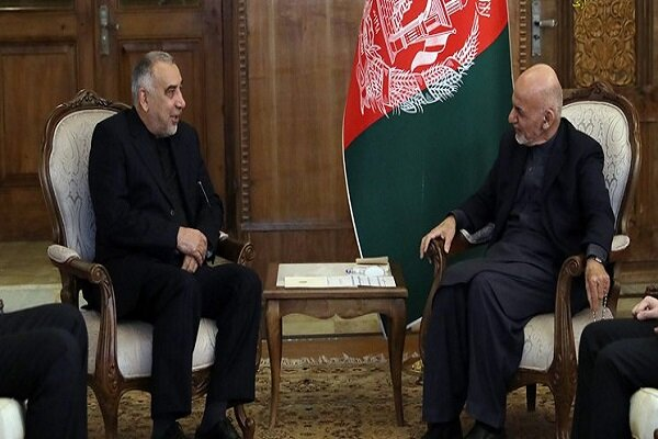 Foreign ministry's representative discusses expansion of mutual ties with Ghani
