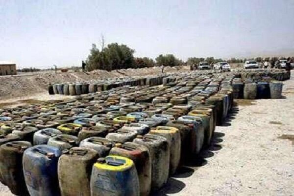 13,000 liters of smuggled fuel seized in NW Iran