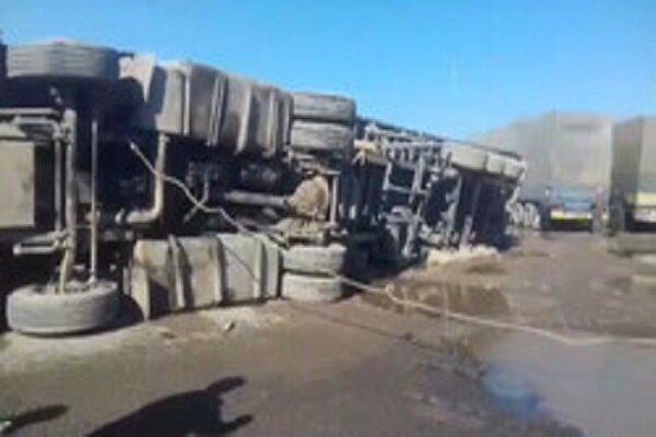 ایران ۲۰۰۰ کامیون را از انفجار نجات داد