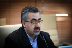 ایران میں کورونا وائرس سے متاثرہ افراد کی تعداد