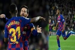 Barça'nın 17 yaşındaki forveti Fati tarihe geçti