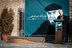 Funeral procession of veteran actor Valiyollah Shirandami