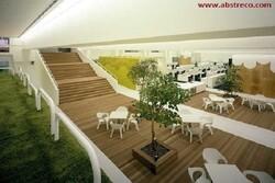 معماری داخلی ساختمان