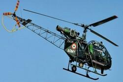 سقوط یک بالگرد هندی در کشمیر