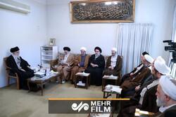 رہبر معظم انقلاب اسلامی سے حوزات علمیہ کی اعلی کونسل کی ملاقات