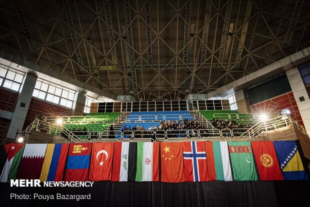 First day of International Fajr Cup in N Iran