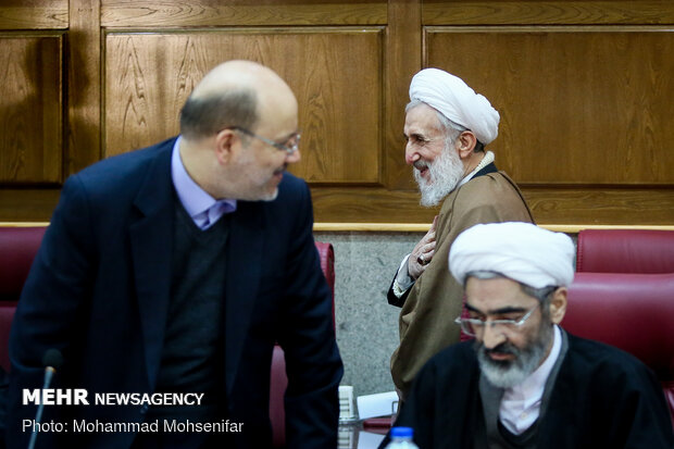 Supreme Council of Judiciary holds meeting