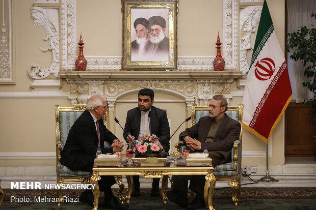 دیدار علی لاریجانی با اتحادیه خارجی