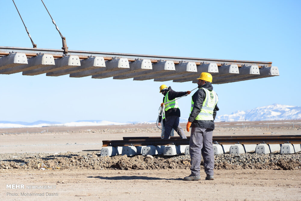 پروژه خط آهن شلمچه-بصره ۱۰ساله شد/ تخصیص زمین منتظر تایید بغداد