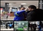 مسافران خارجی در مرز آستارا برای مقابله با کرونا پایش می شوند