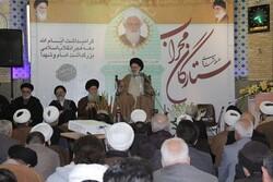 آیت الله نجفی تهرانی یک خدمتگزار بی منت و شایسته برای جامعه است