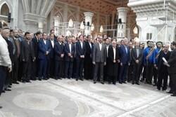تجدید میثاق وزیر و مدیران ارشد وزارت صنعت با آرمان های امام راحل