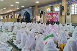 جشن تکلیف دانش آموزان دختر مدارس ابتدایی گناوه برگزار شد
