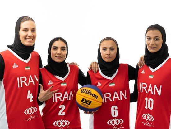 Iranian women 3x3 basketball want a place at Tokyo 2020: official