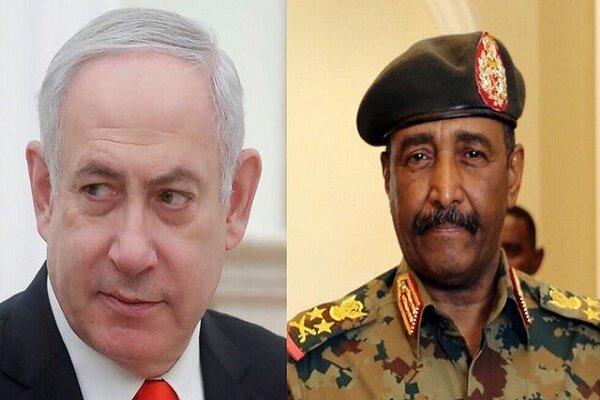 خروج مظاهرات غاضبة في السودان رفضا للقاء البرهان مع نتنياهو