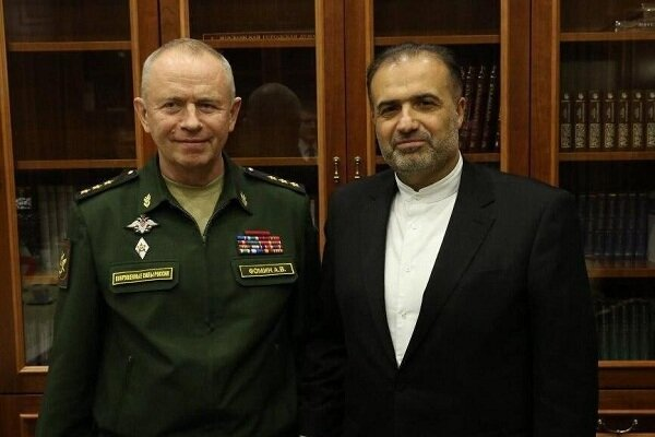 Iran, Russia stress continuation of defense coop.