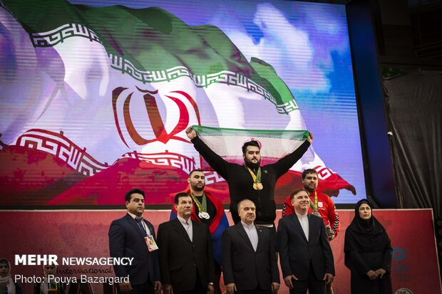 Iran claims title of 5th Fajr Cup
