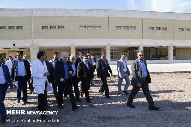 دومین روز سفر وزیر بهداشت به هرمزگان