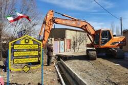عملیات اجرایی بهسازی ابنیه ۱۵ روستای شهرستان نهاوند آغاز شد