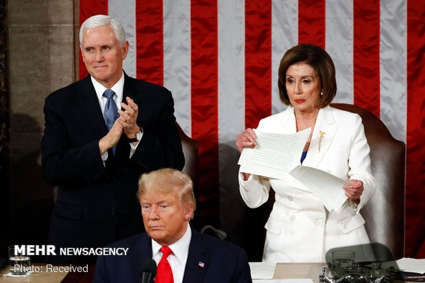 Pelosi says she will pull Trump out of W. House by his hair