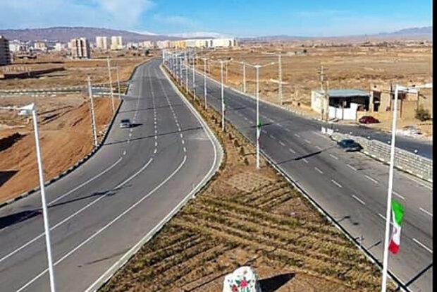 بررسی تمهیدات انحراف ترافیک در تقاطع شهید رستگار و آزادگان