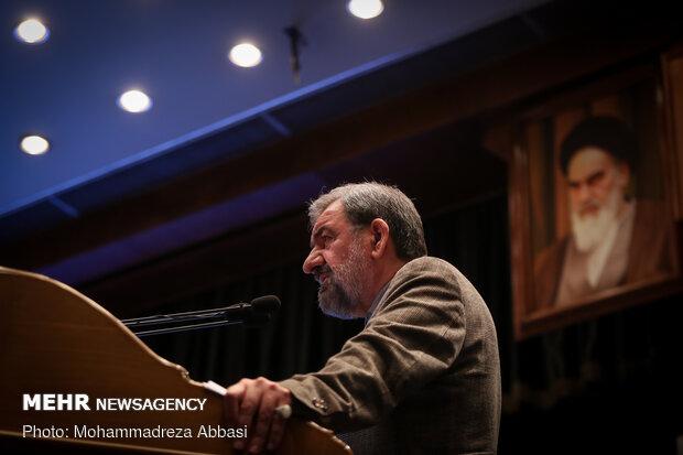 سخنرانی محسن رضایی دبیر مجمع تشخیص مصلحت نظام  در همایش بین المللی بیانیه گام دوم انقلاب