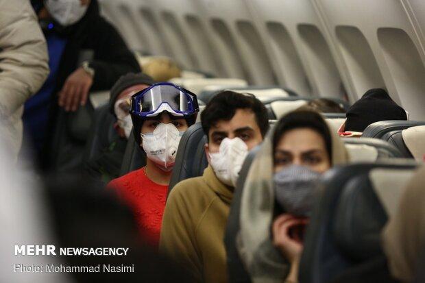بازگشت دانشجویان ایرانی مقیم چین به کشور