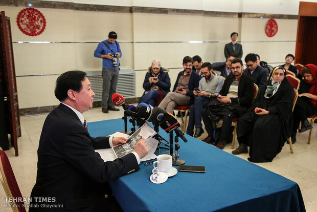 Beijing envoy holds press conference on coronavirus as outbreak concerns grow