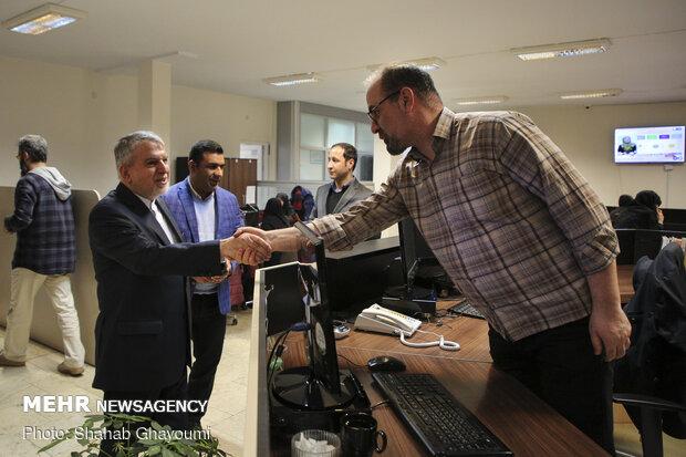 INOC pres. visits MNA HQ