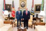 «ترامپ» با «گوایدو» در کاخ سفید دیدار کرد