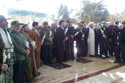 مراسم غباروبی گلزار شهدای بروجرد برگزار شد