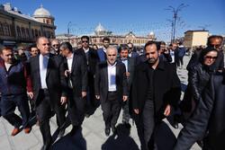 وزیر خزانہ کا صوبہ ہمدان کا دورہ