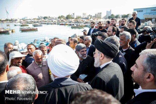 Judiciary chief visits Bushehr prov.