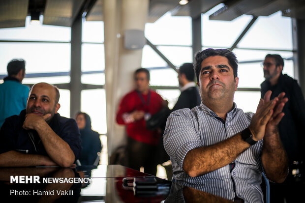 Excitement of watching Tehran Derby on sidelines of Fajr Film Festival