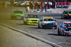 4th round of speed car race in Tehran