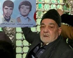 پدر کم سن و سال ترین شهید نهضت انقلاب اسلامی درگذشت