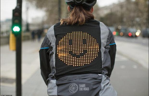 دوچرخه سواران حالات روحی خود را با رانندگان به اشتراک می گذارند