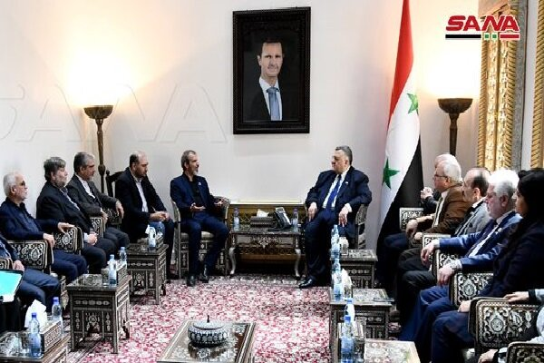 Iran, Syria discuss bilateral cooperation in Damascus